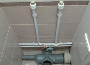 Монтаж водопровода из полипропиленовых труб
