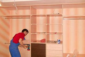Сборка шкафов для одежды
