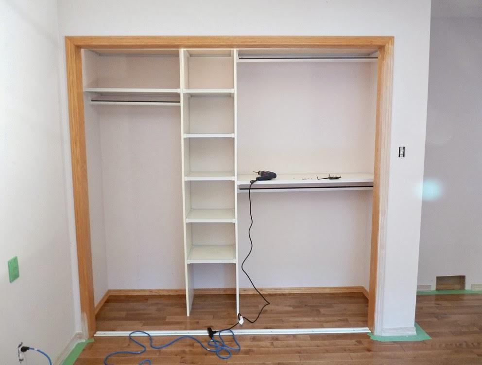 Как сделать ремонт если встроенный шкаф 895