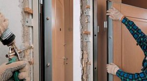 Установка входных дверей самостоятельно