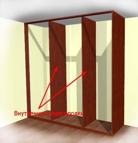 Как сделать встроенные двери для шкафа купе