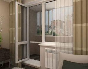 Замена пластиковой балконной двери