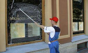 Мойка витрин в Санкт-Петербурге