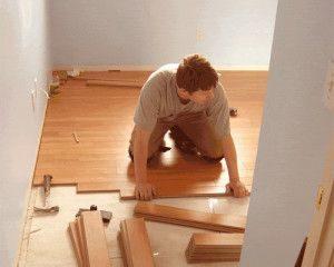 Как самому уложить ламинат на пол