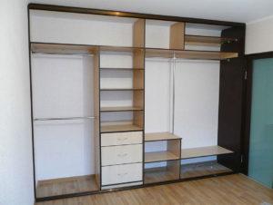 Сборка встраиваемого шкафа